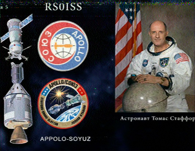 SSTV received image